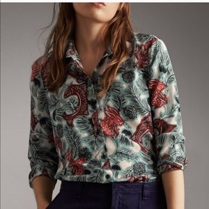 BURBERRY BEASTS BLOUSE